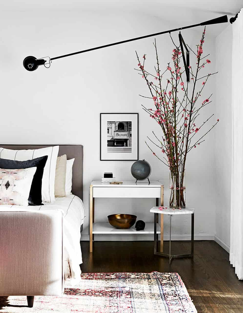 bedroom_blush_pink_flos light_emily henderson