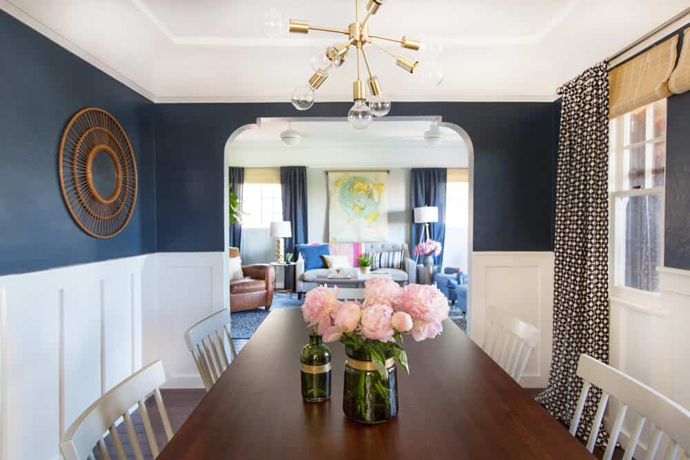 Dining Room Redesign Office Space Nanny Makeover Sylvia Emily Henderson Design-267