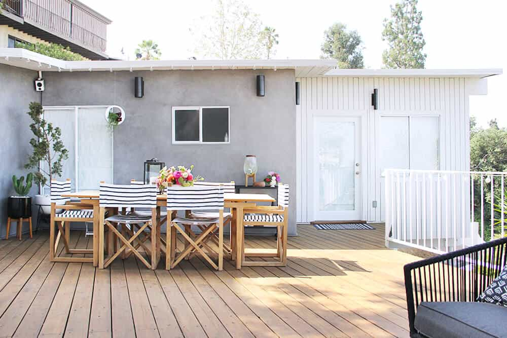 Emily Henderson Outdoor Summer Deck Makeover3