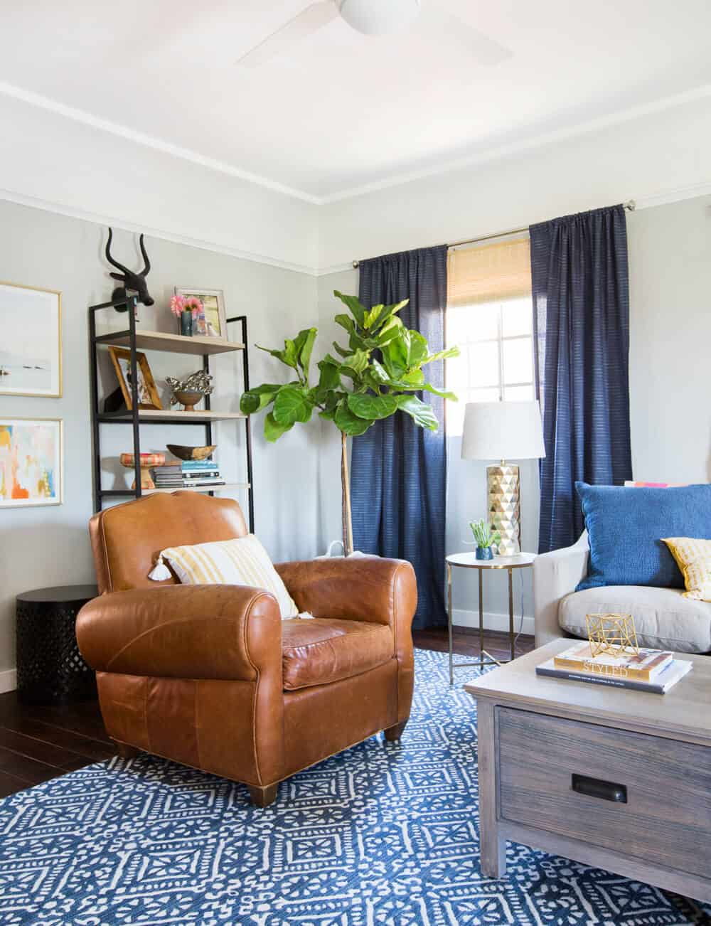 Emily Henderson_Target_Makeover_Nanny Suprise_Happy_Modern_Traditional_Eclectic_Makeover_Blue_Pink_Living Room_23
