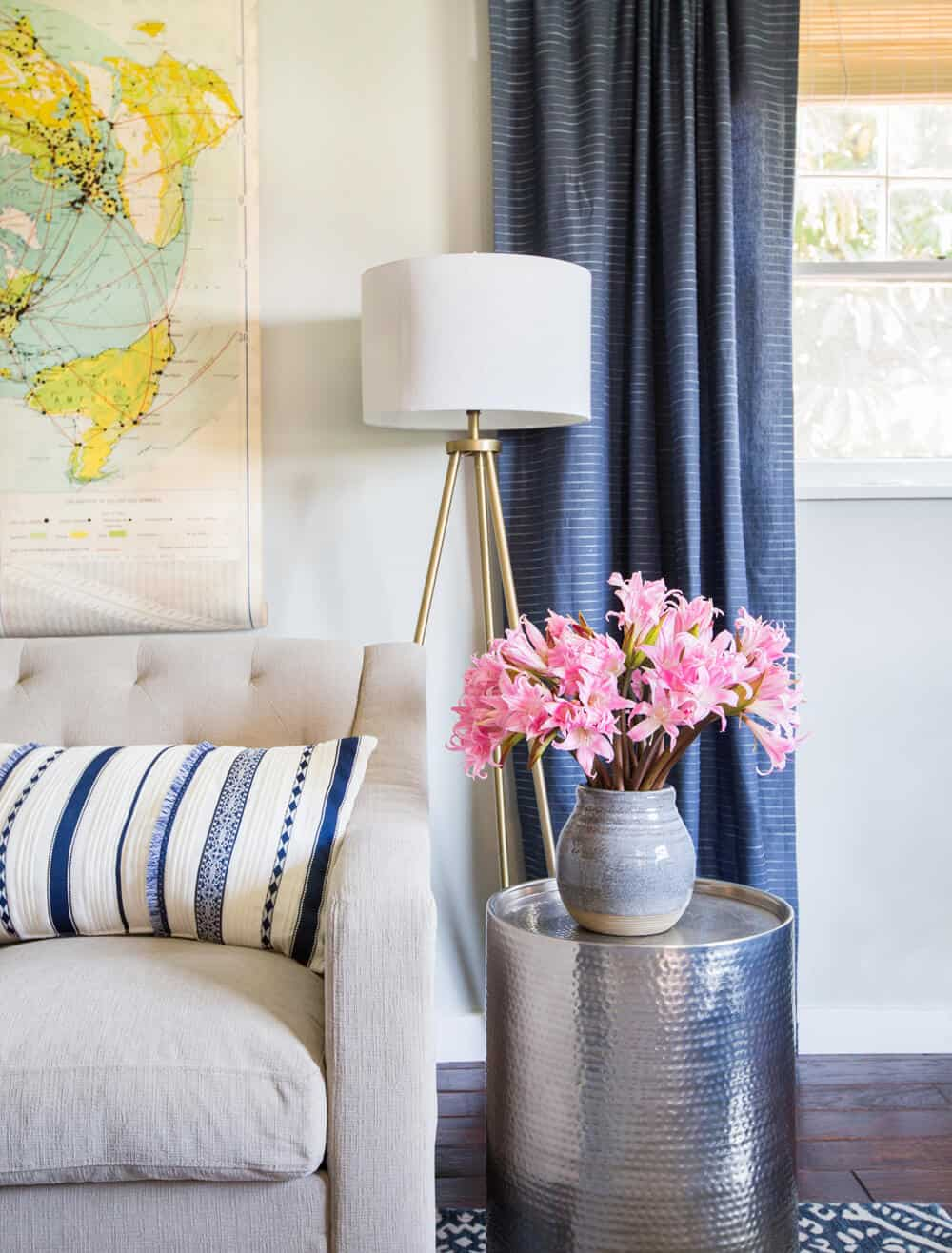 Emily Henderson_Target_Makeover_Nanny Suprise_Happy_Modern_Traditional_Eclectic_Makeover_Blue_Pink_Living Room_29