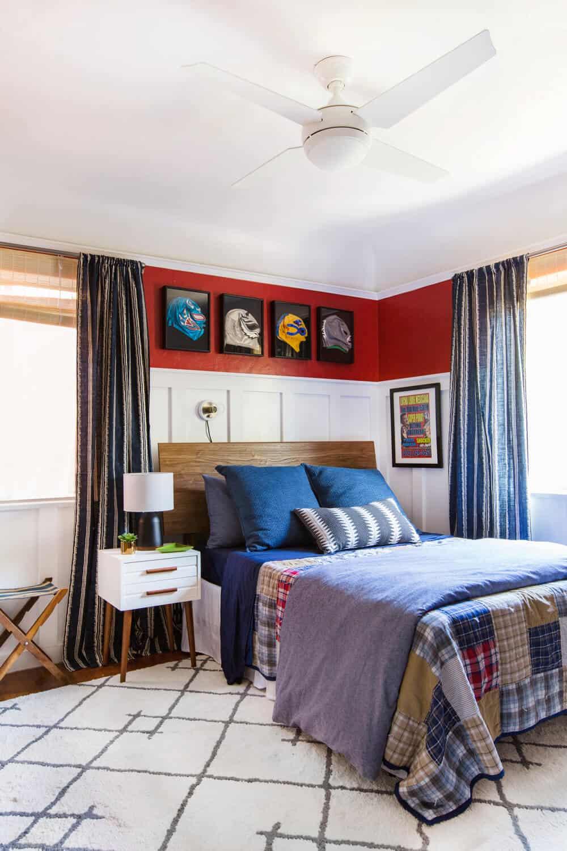 Ricky's Bedroom Teen Boy Room Nanny Makeover Sylvia Emily Henderson Design-059a