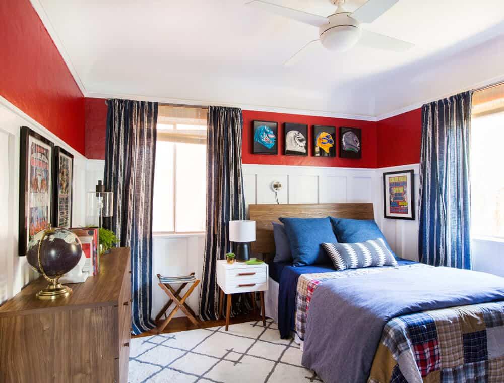 Ricky's Bedroom Teen Boy Room Nanny Makeover Sylvia Emily Henderson Design-061