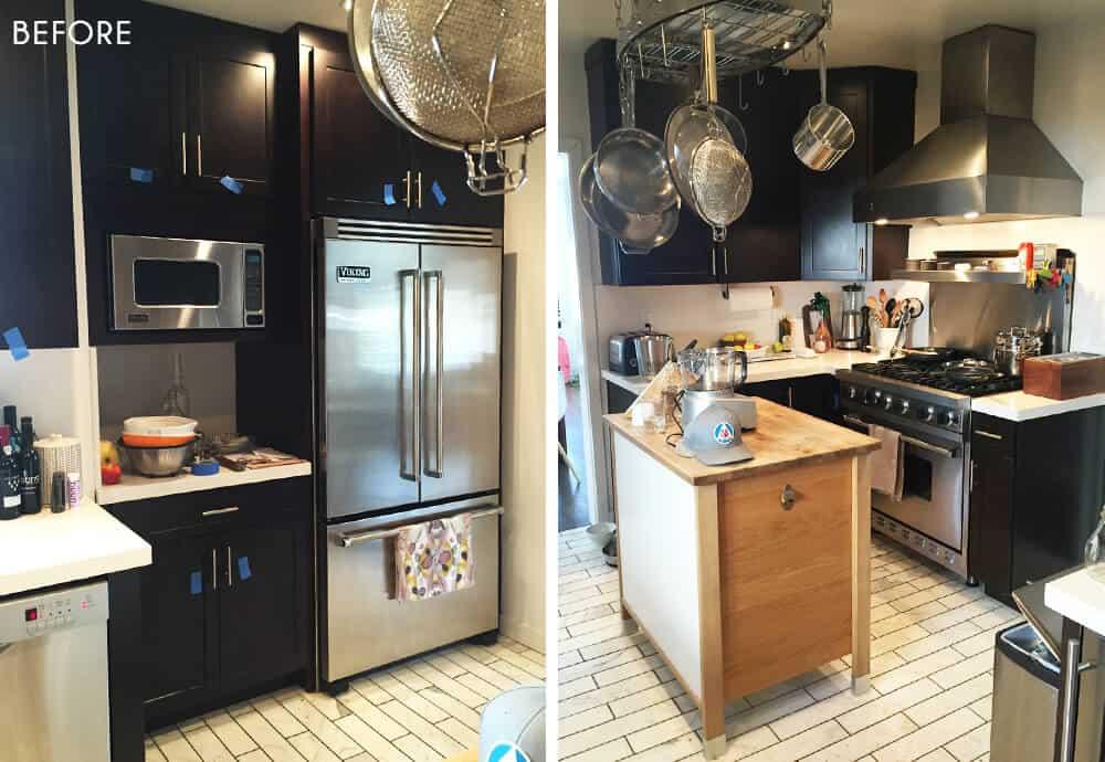 Sarah Stabuel Kitchen Emily Henderson Design Before 2