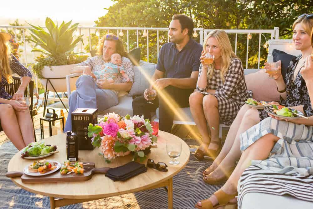 Summer Party_Outdoor Entertaining_Emily Henderson_Blackbox Wines_Flowers_Casual_Pink_Orange_Modern_Organic_Boho_Black_Grey_Blue_36