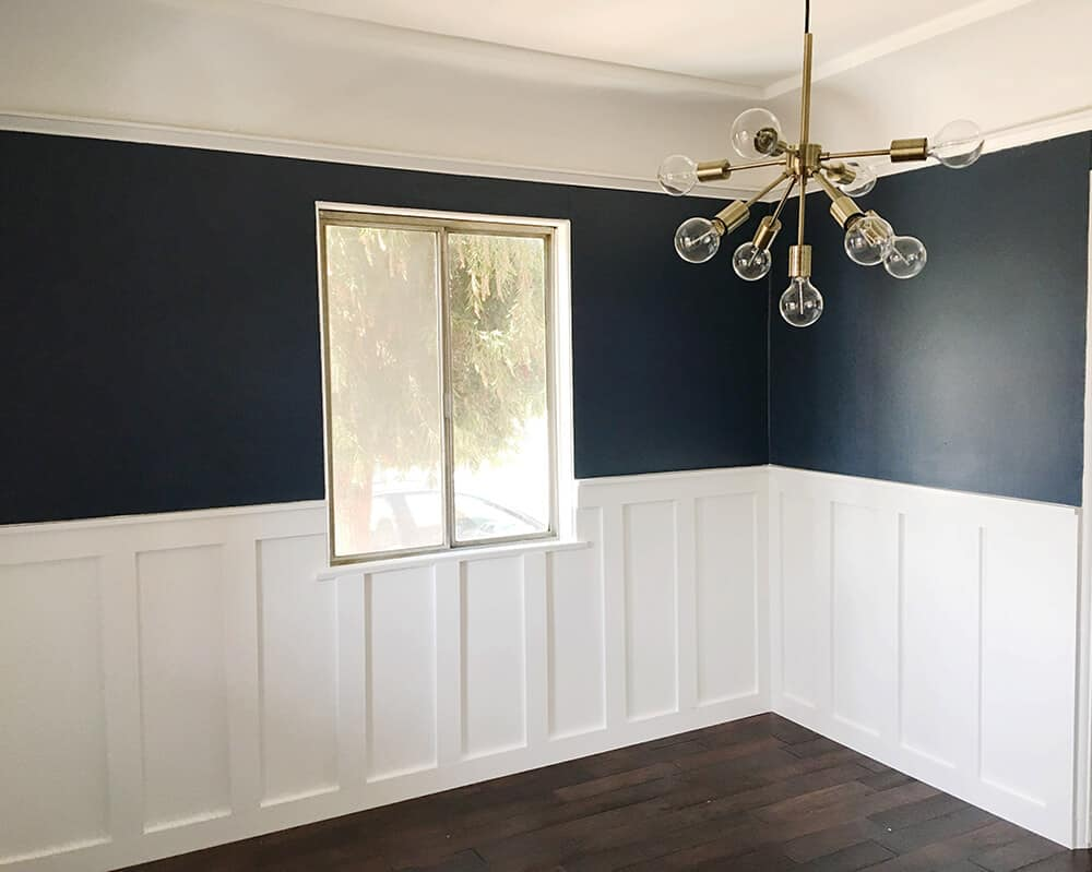 Syliva_Dining Room_Emily Henderson_Blue_Dining Room_Empty_Paneling1