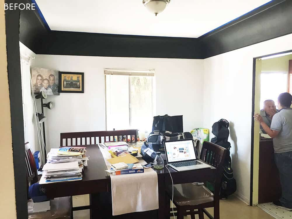 Sylvia Makeover Target Dining Room_Before