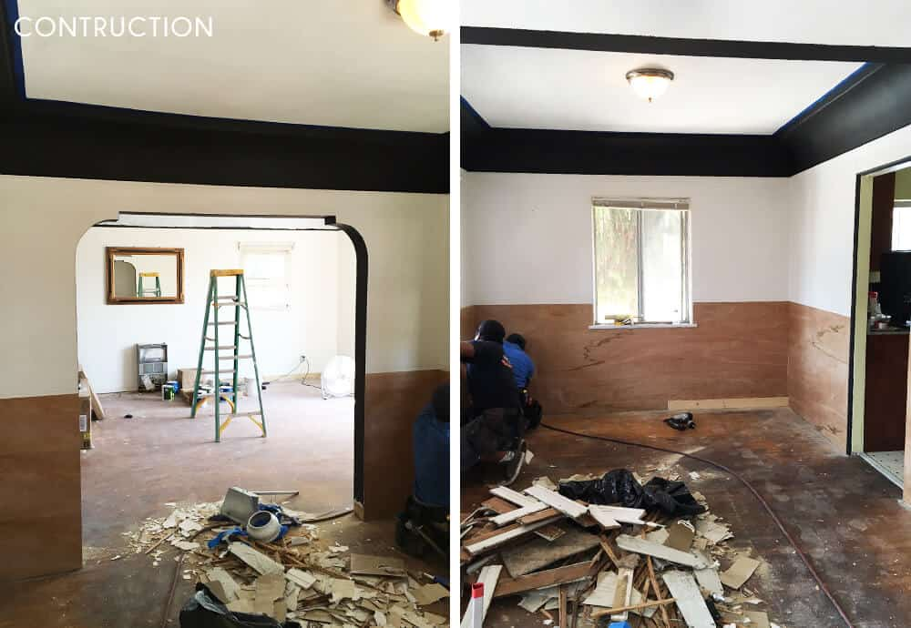 Sylvia Makeover Target Dining Room_Construction