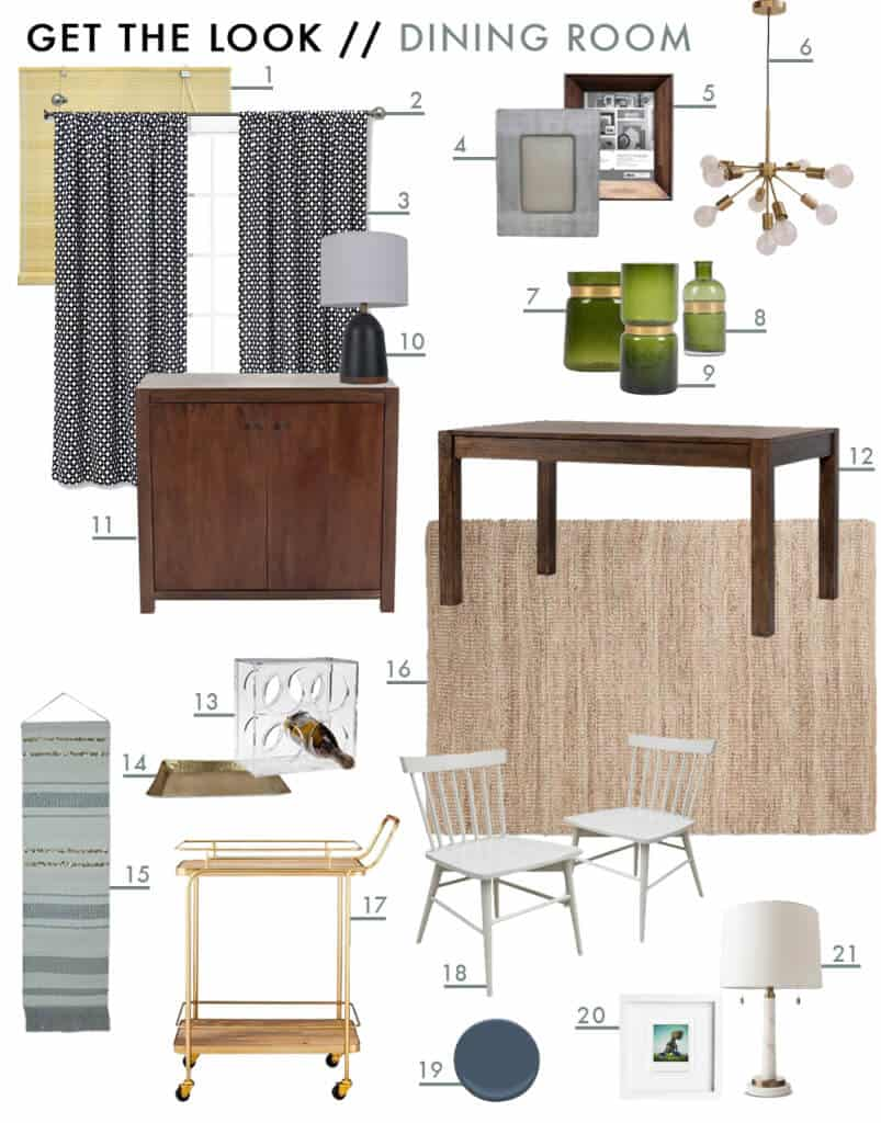 Sylvia's Makeover Dining Room Get The Look