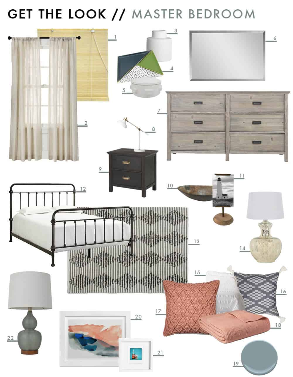 Sylvia's Makeover Master Bedroom Get The Look