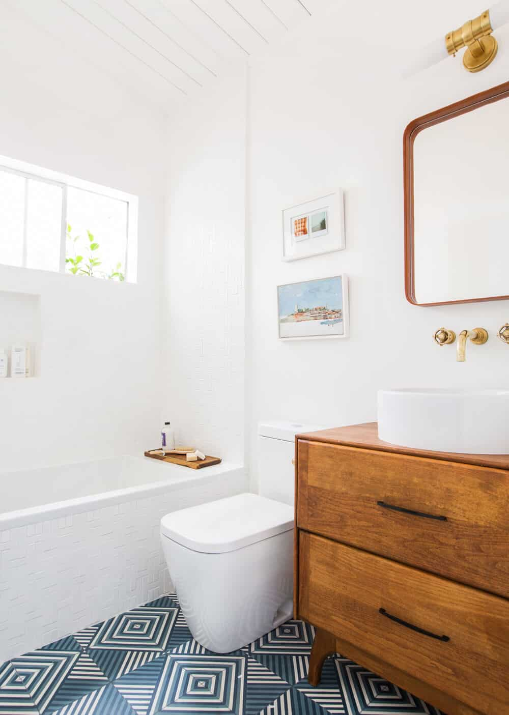 Guest Bathroom Reveal The Look