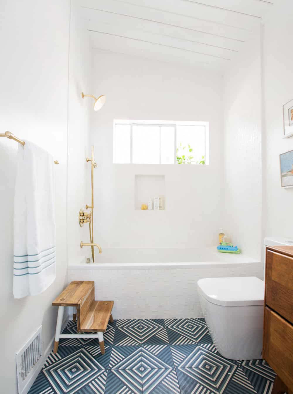 Guest Bathroom Reveal Shop The Look Emily Henderson