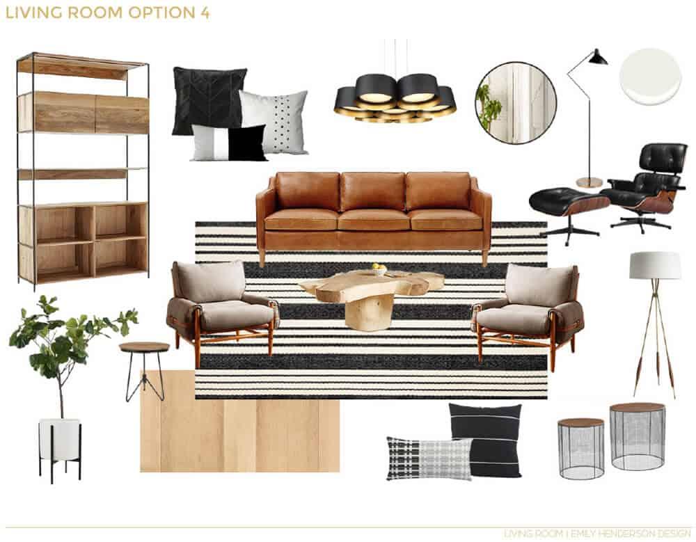 Emily Henderson_Emma Rooney_Living Room_Boho_Masculine_Neutral_White_Cream_EDesign_3