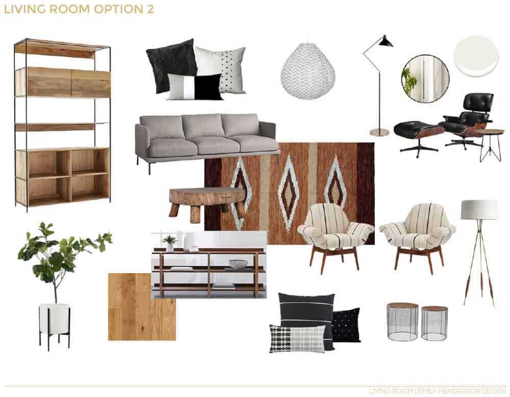 Emily Henderson_Emma Rooney_Living Room_Boho_Masculine_Neutral_White_Cream_EDesign_8