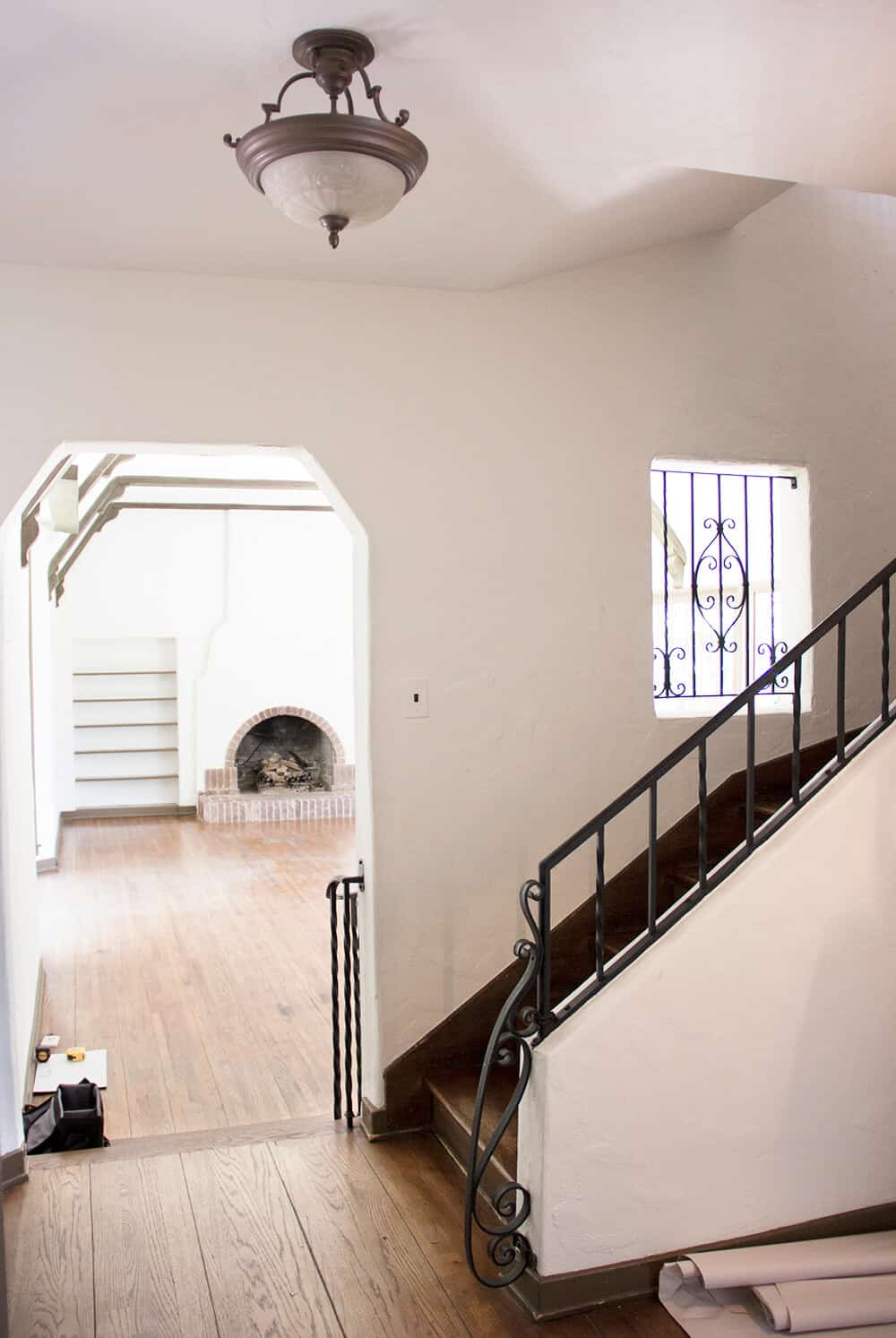 Emily Henderson_New House_Introduction_Blank Space_Before_Stairway_2