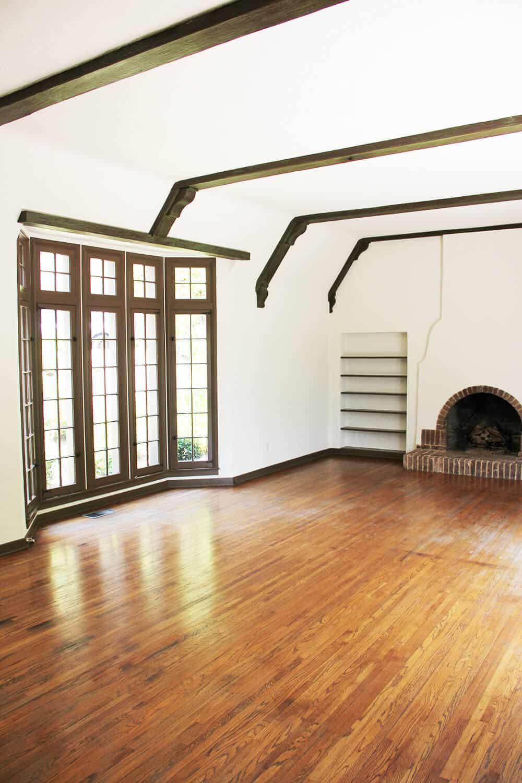 Emily Henderson_Renovation_Home Imporovement_Spanish_Tudor_Living Room_Before_4