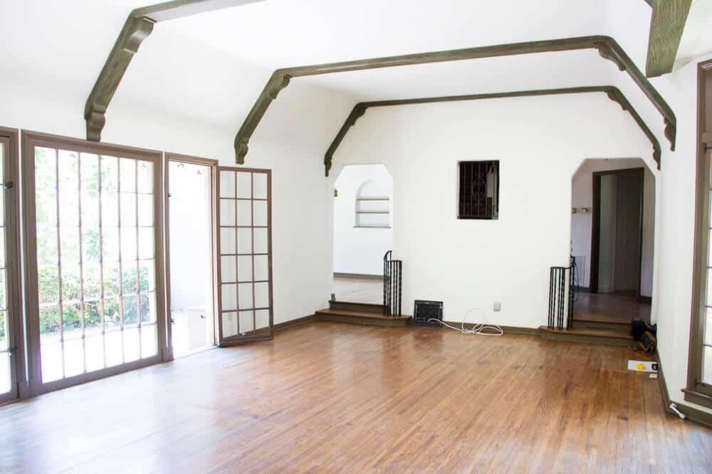 Emily Henderson_Renovation_Home Imporovement_Spanish_Tudor_Living Room_Before_9