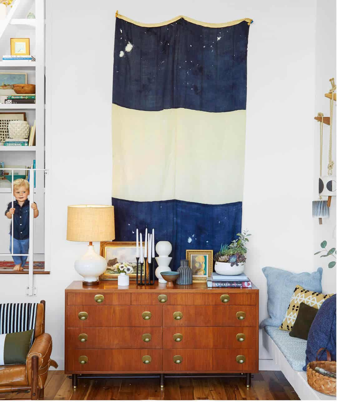 Emily Henderson In: How To Style A Credenza