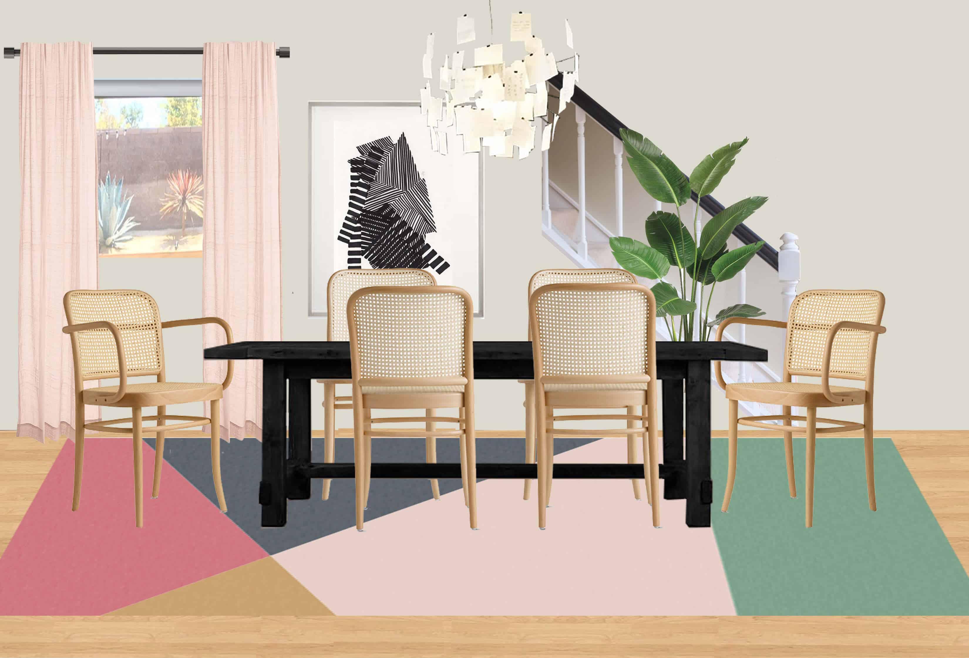 JaimeDerringer_EmilyHenderson_Dining_Room_Makeover_OptionThree