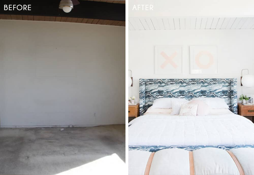 Master Bedroom Reveal Before and After Emily Henderson Design 1