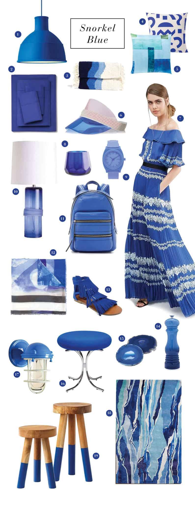 Snorkel Blue Color Trend Roundup Emily Henderson Design