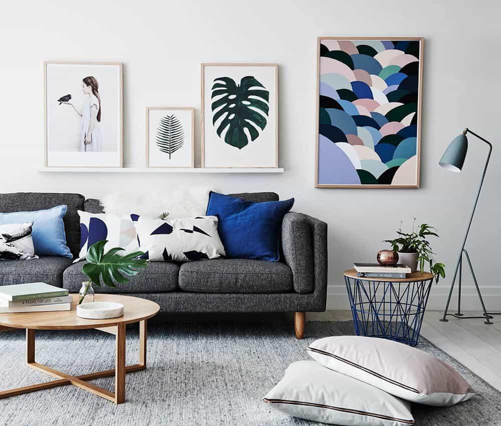 Snorkel Blue Color Trend Roundup Emily Henderson Design Photo 1