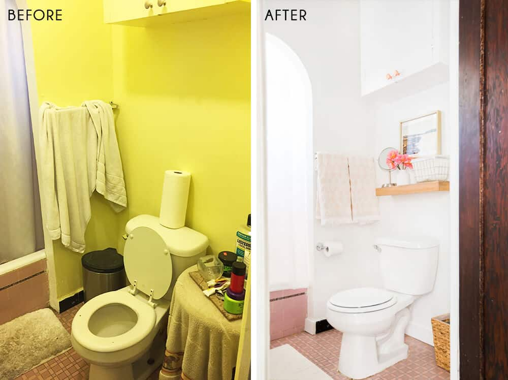 Sylvia Makeover Target Before_Bathroom_After 2