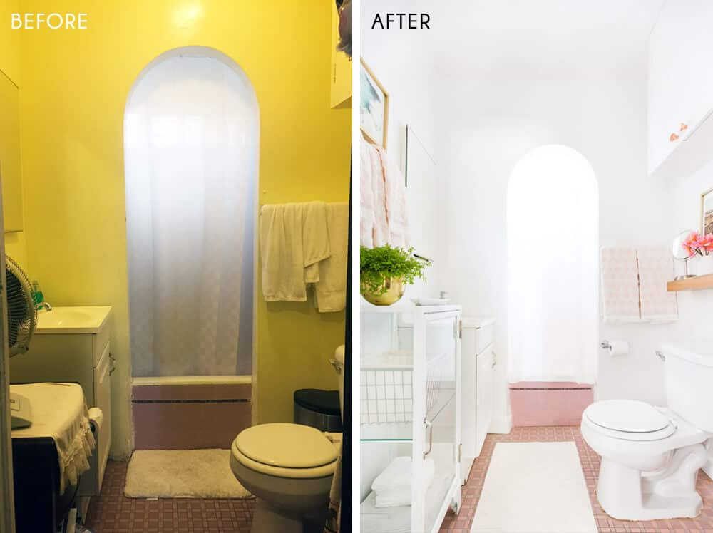 Sylvia Makeover Target Before_Bathroom_After