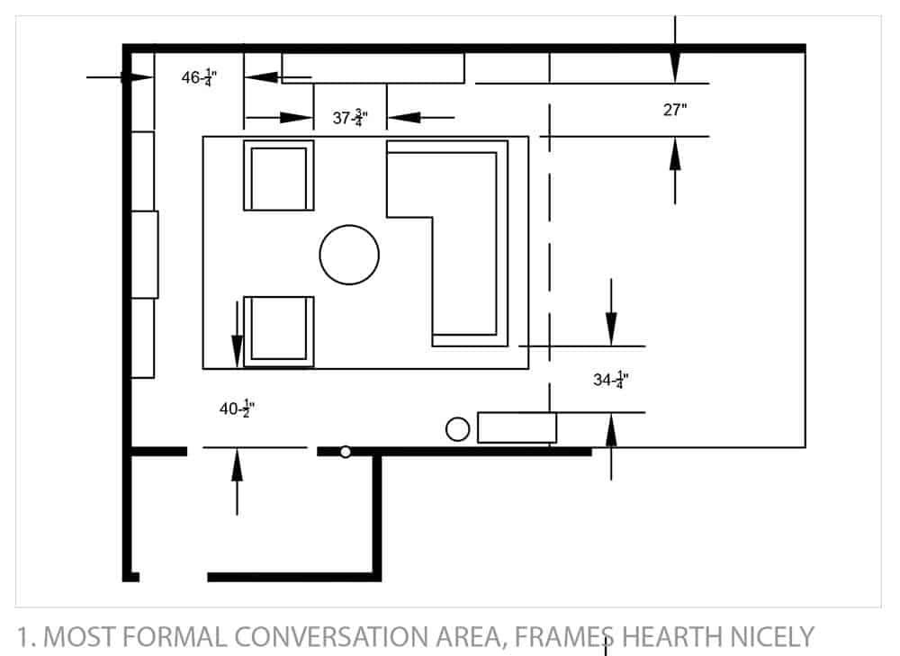 My living area, dining area, and kitchen are one big open space. It ...