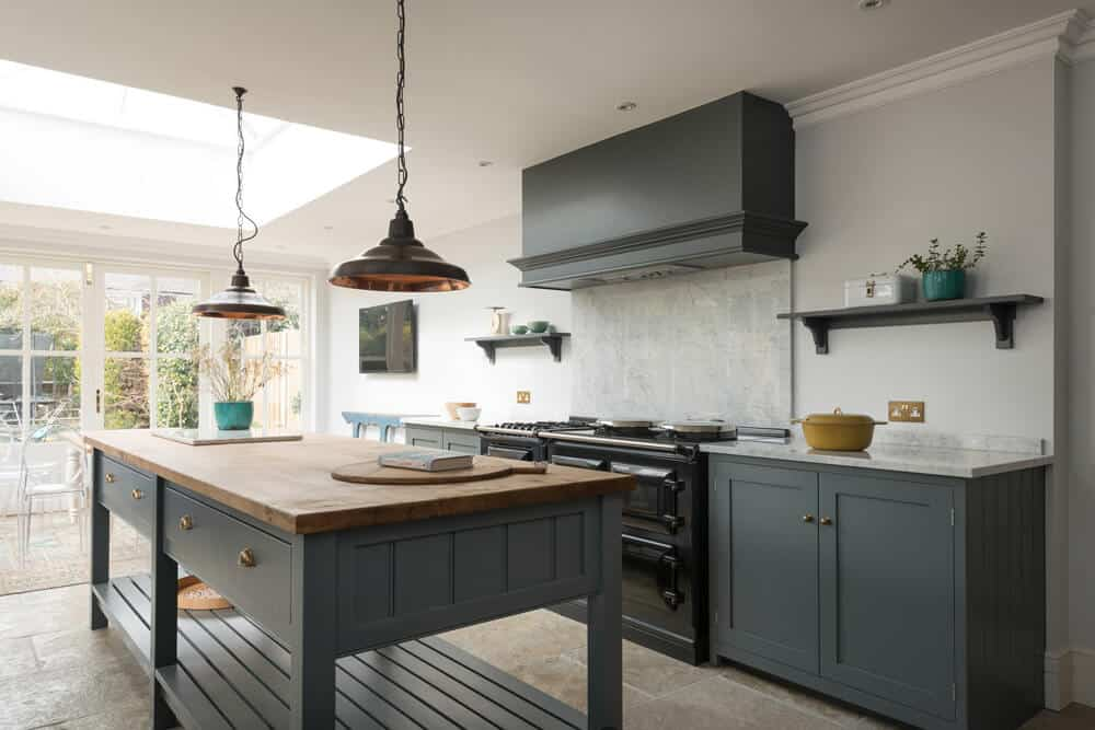 House inspiration devol kitchen emily henderson for Traditional english kitchen