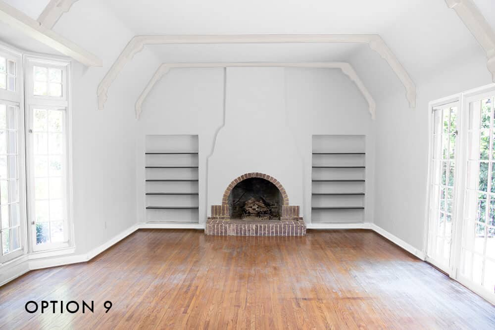 option-9-emily-henderson_house_living-room_painting_trimwork_grey-walls-white-trim-and-white-beams