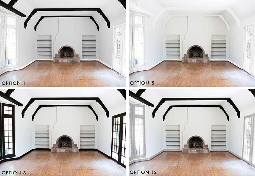 4x4-grid-of-favorites-emily-henderson-design-new-house-painting-the-trim-ask-the-audience