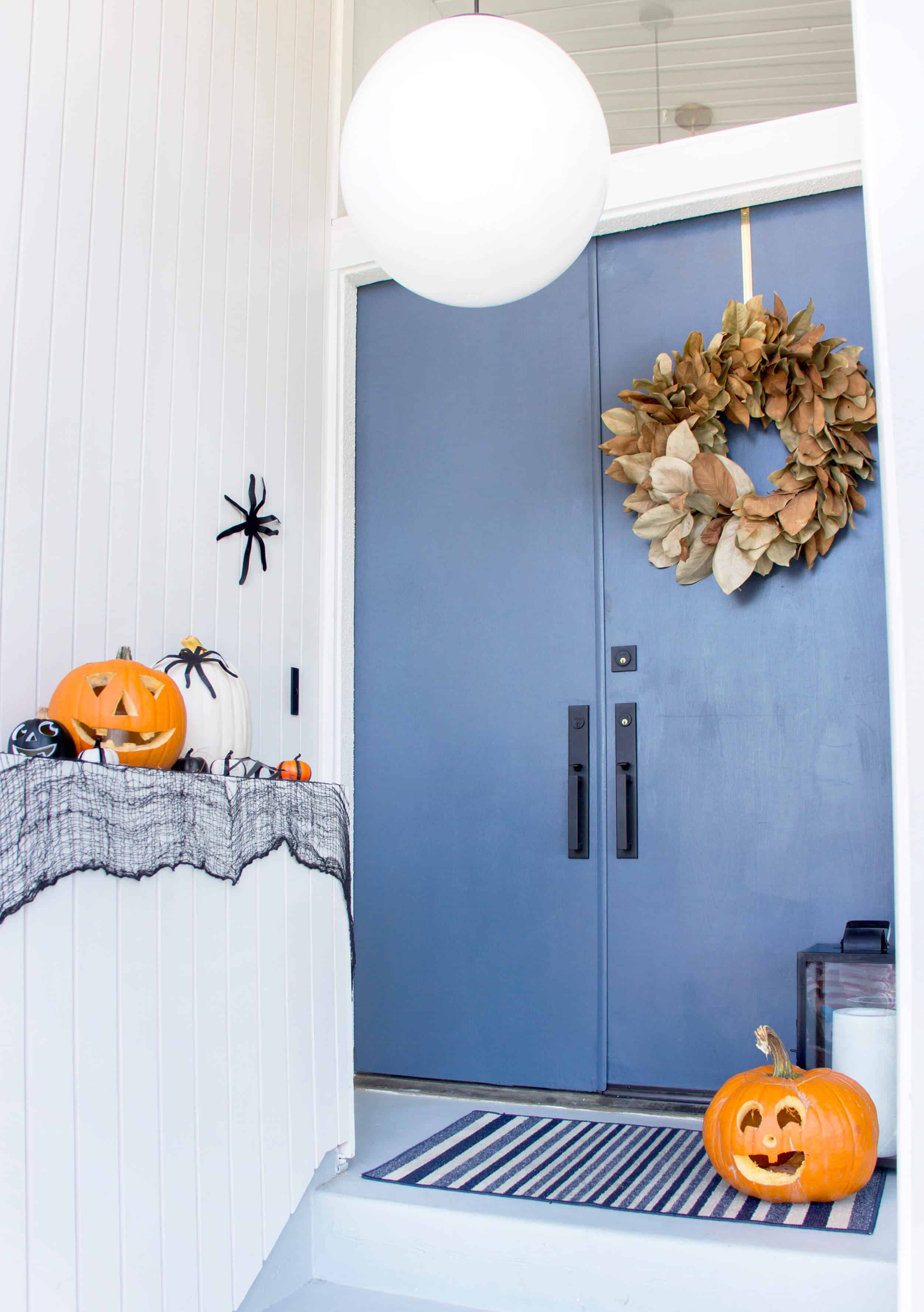 emily-henderson_fall-decorating_halloween_target_living-room_autumn_pumpkin_spider-web_decor_easy_affordable_9
