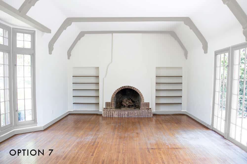 option-7-emily-henderson_house_living-room_painting_trimwork_white-walls-grey-trim-and-grey-beams