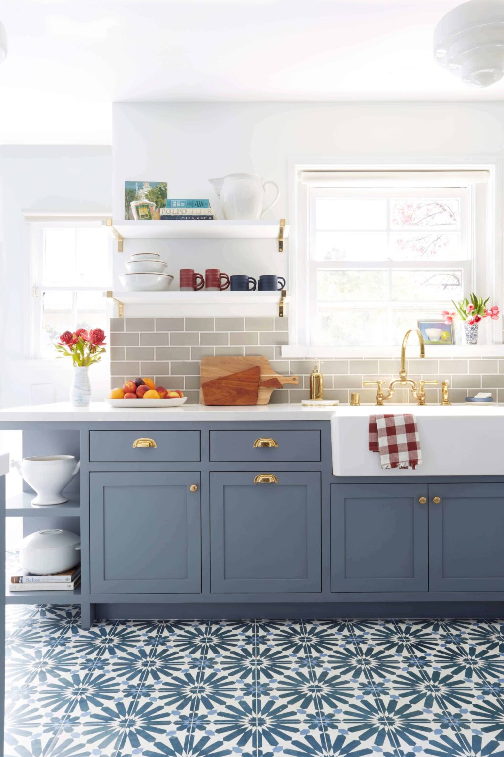 How To Have Open Shelving In Your Kitchen Without Daily: How To Style Open Shelving