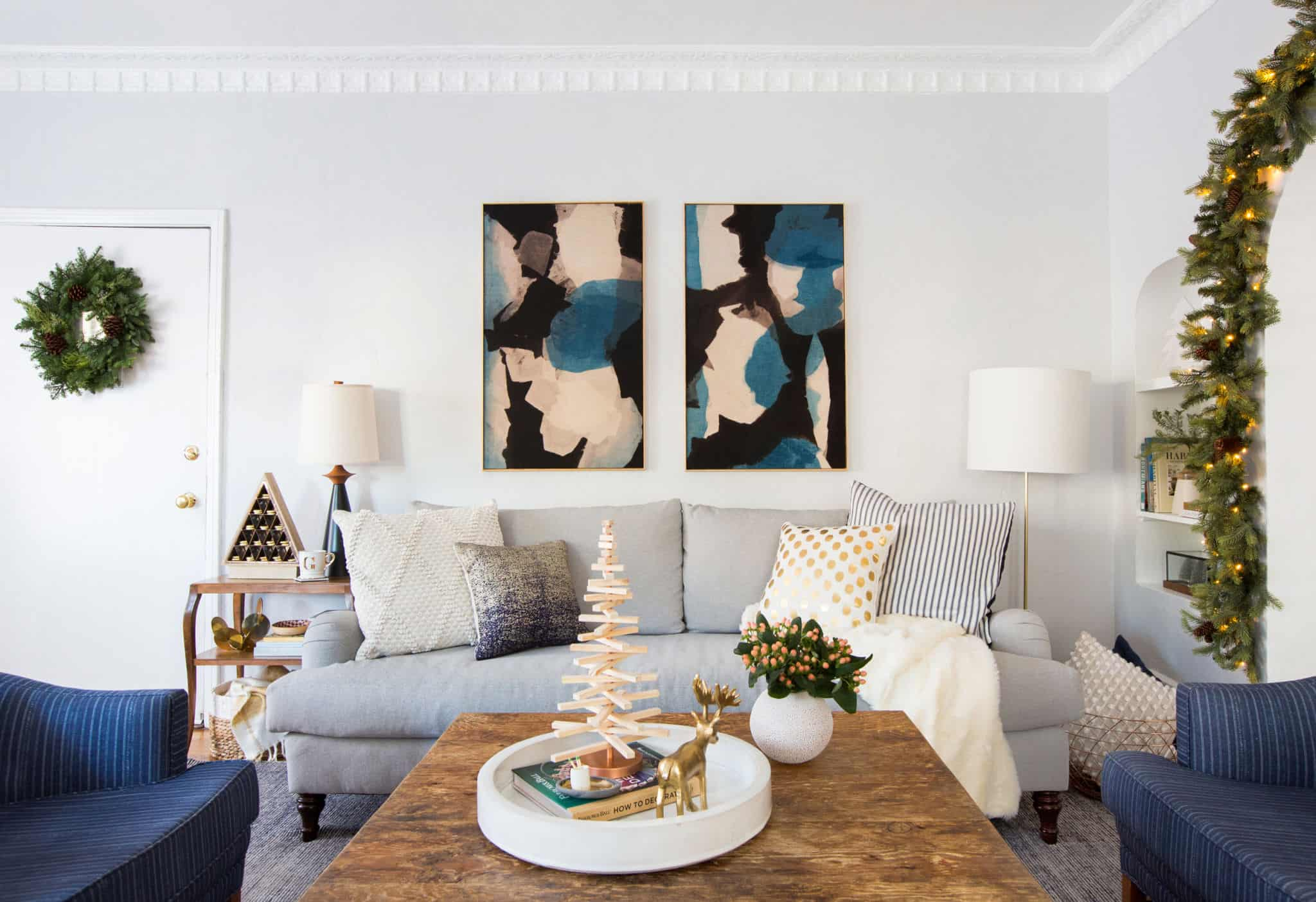 emily-henderson_holiday-decorating_ginny_living-room_dining-room_christmas_white-neutral_cozy-cottage_20a