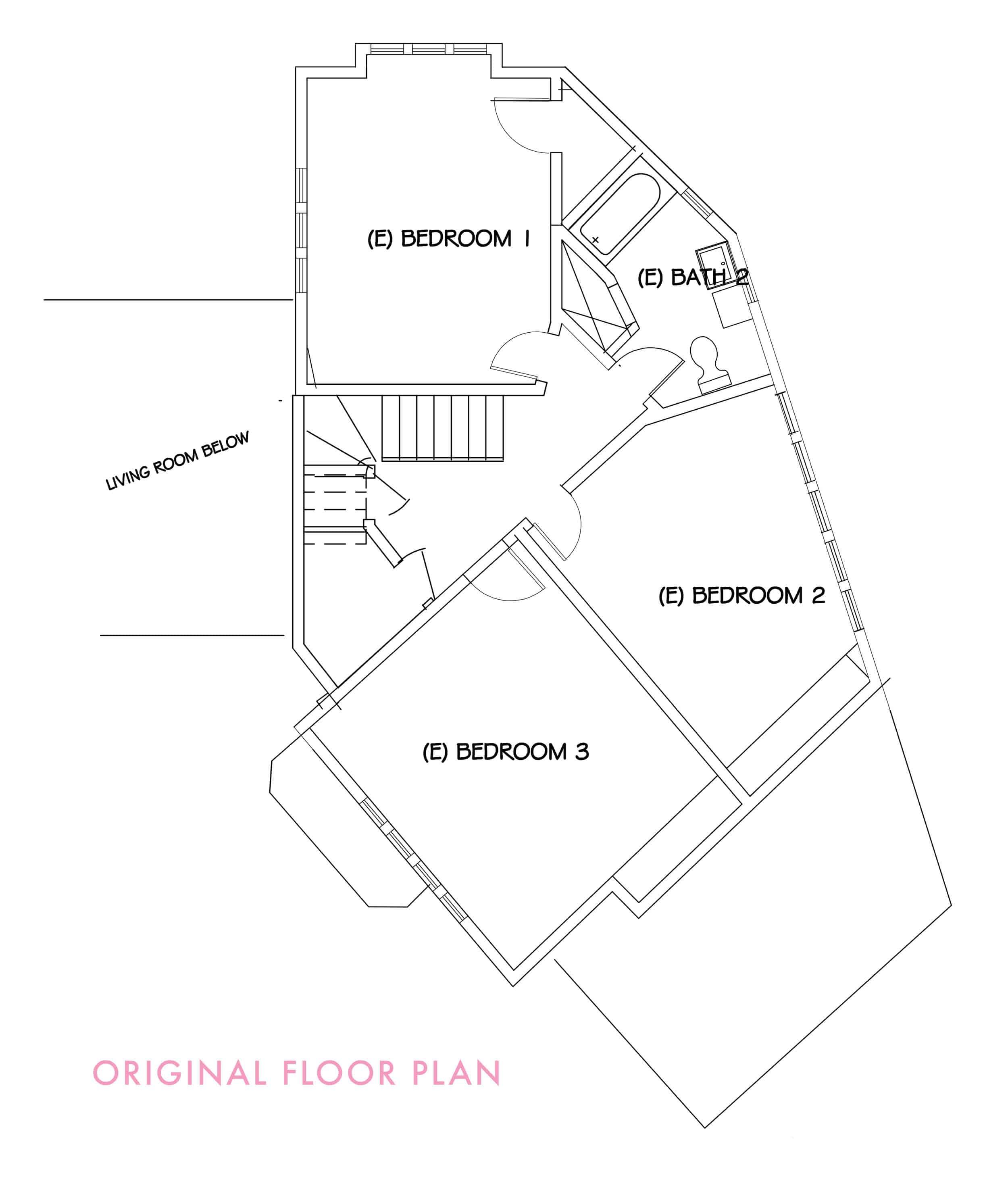 emily-henderson_waverly_floorplan_demo_upstairs_renovation_exisiting-floor-plan