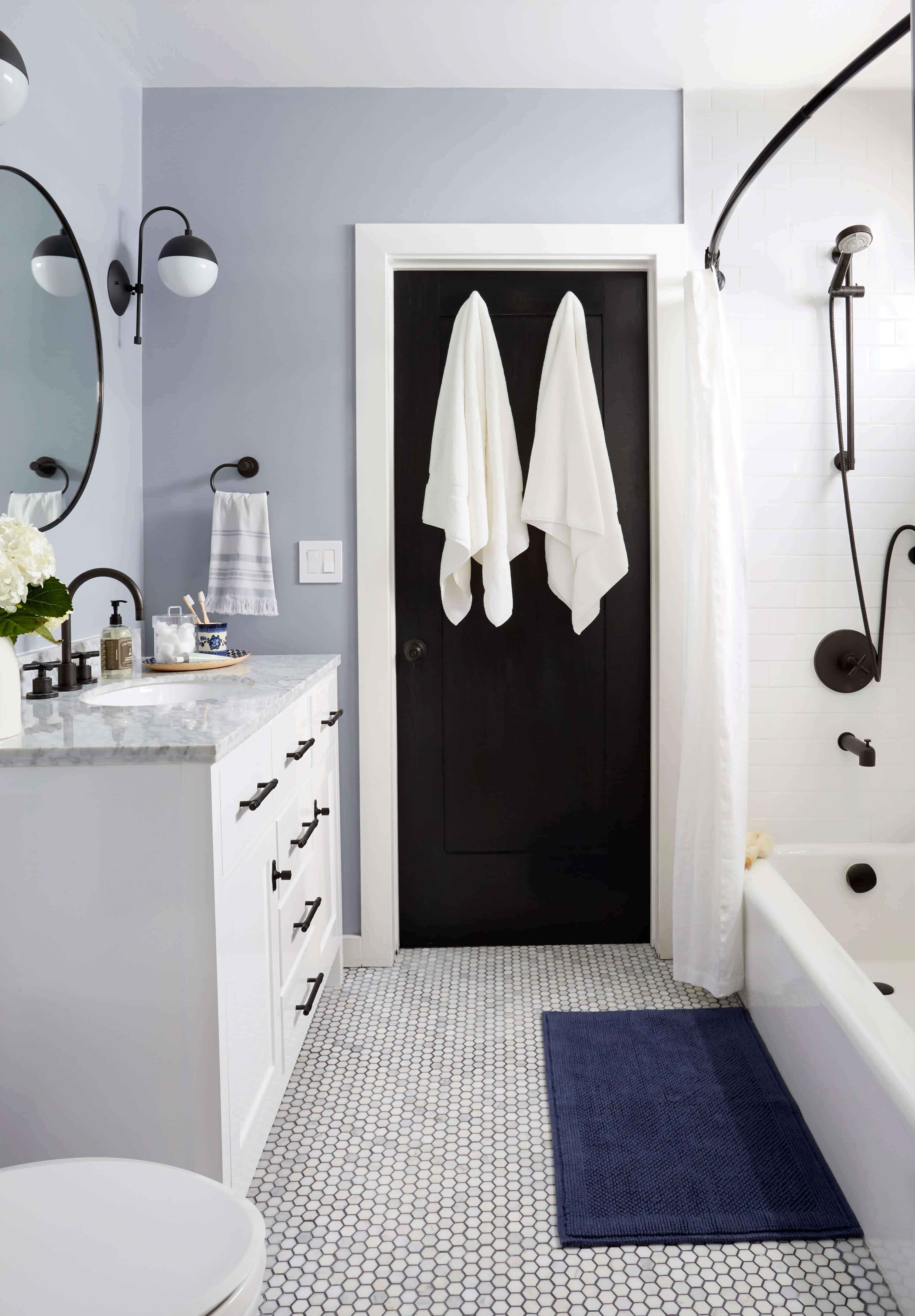 Modern Traditional Bathroom Refresh | Emily Henderson | Bloglovin\'