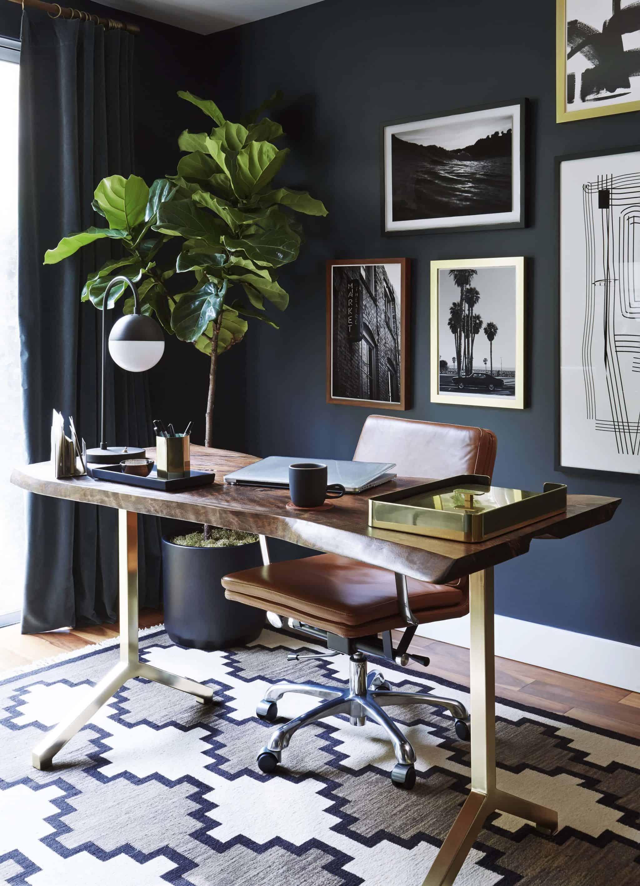 Emily Henderson_Home Office_Dark_Modern_Masculine_2