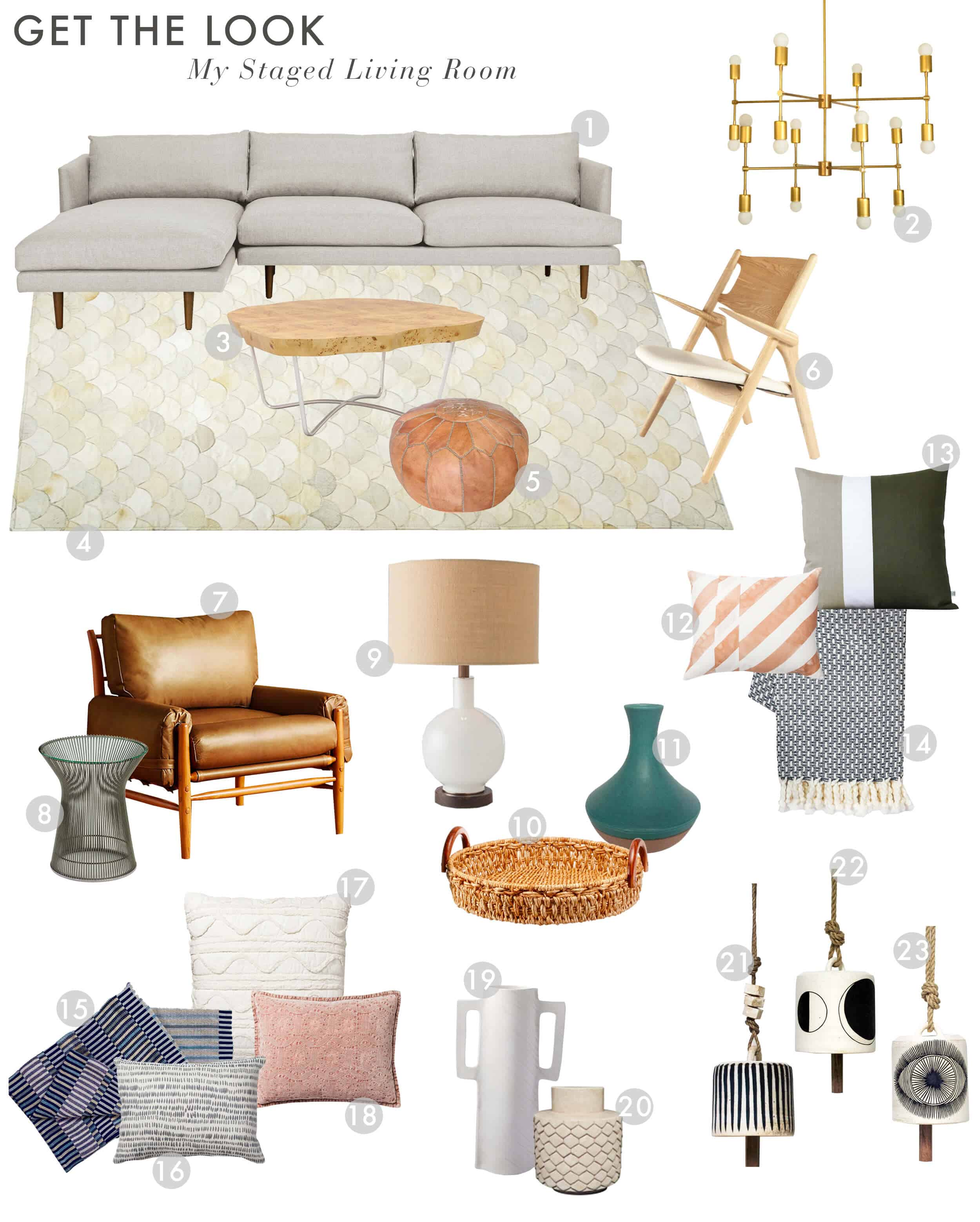 Emily Henderson_Home_Living Room_Staging_For Sale_Curbed_Get the Look_With Numbers
