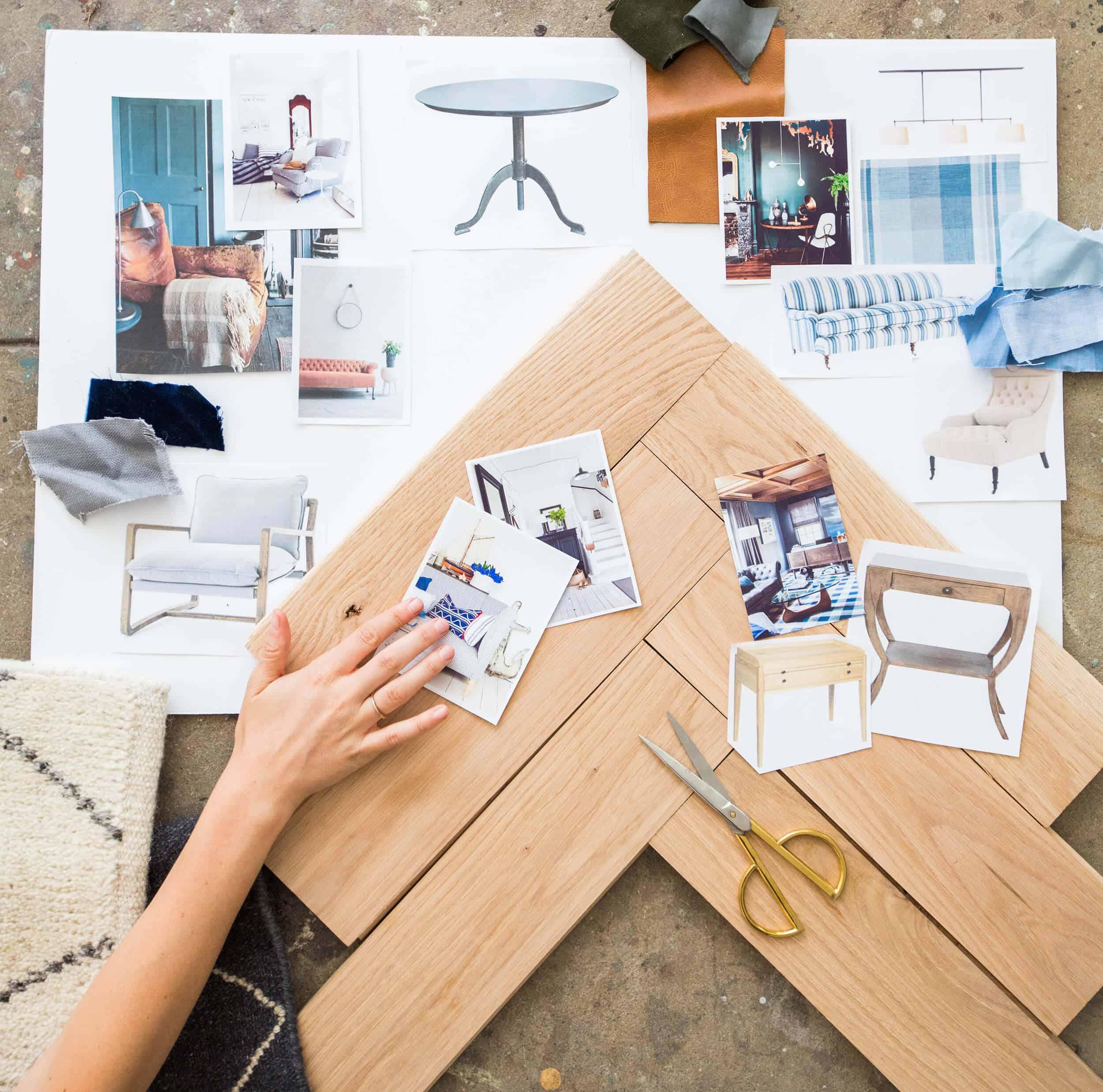 Emily Henderson_Home_Wood Flooring_Unfinished Flooring_Moodboard