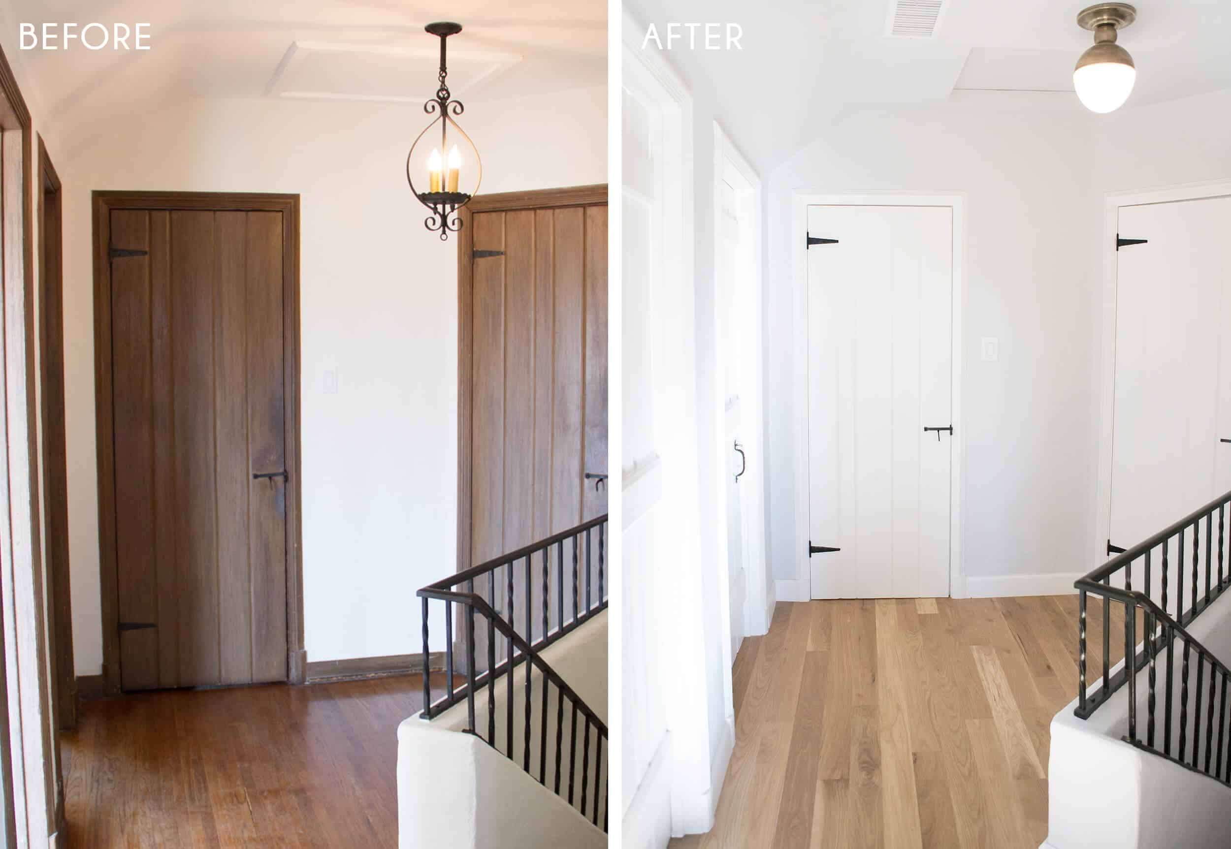 Emily Henderson_Home_Wood Flooring_Upstairs_Before_After_2