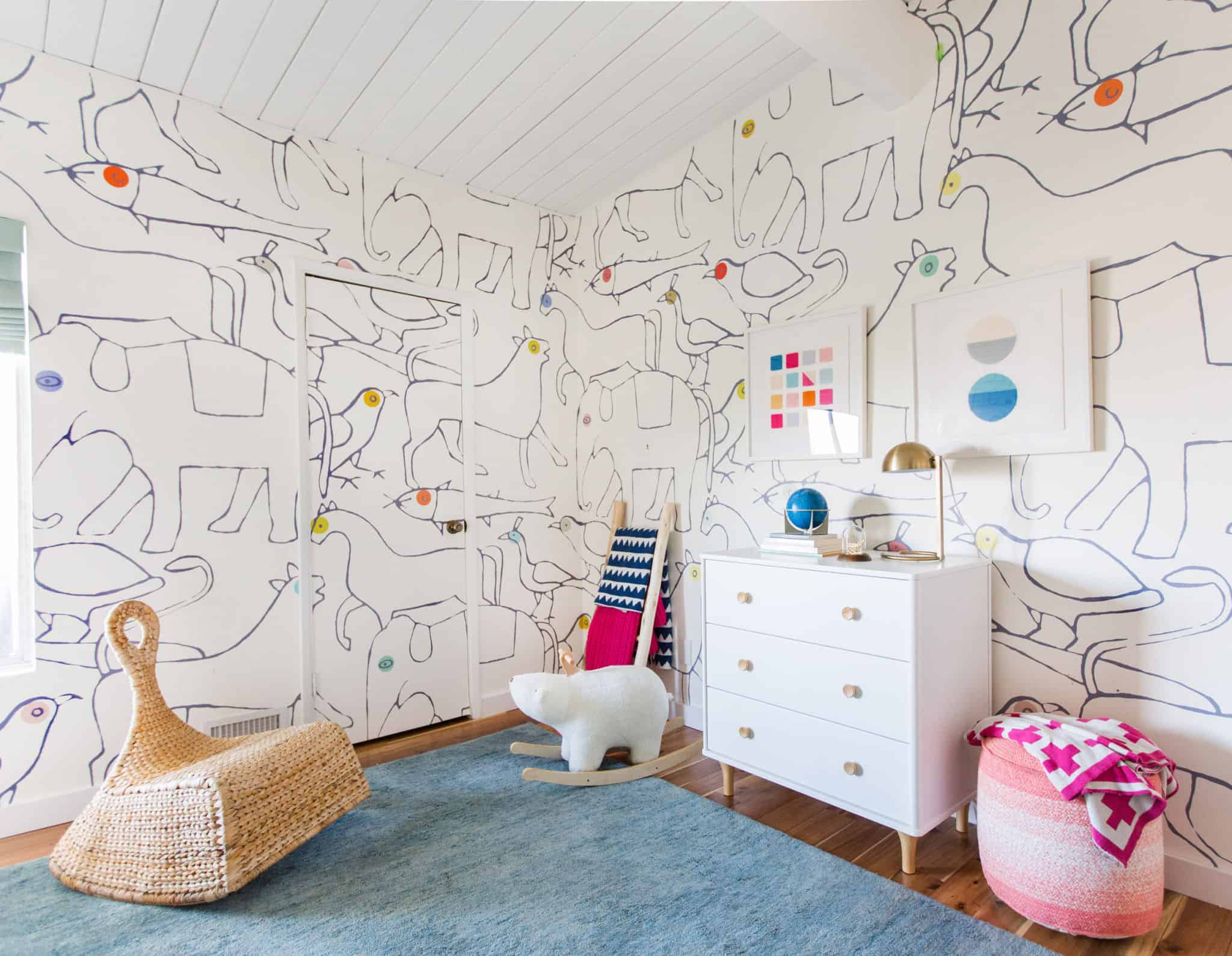 Emily Henderson_Kids Room_Budget Friendly_Target_Bright_Happy_Clean_Modern_Charlies Room_1