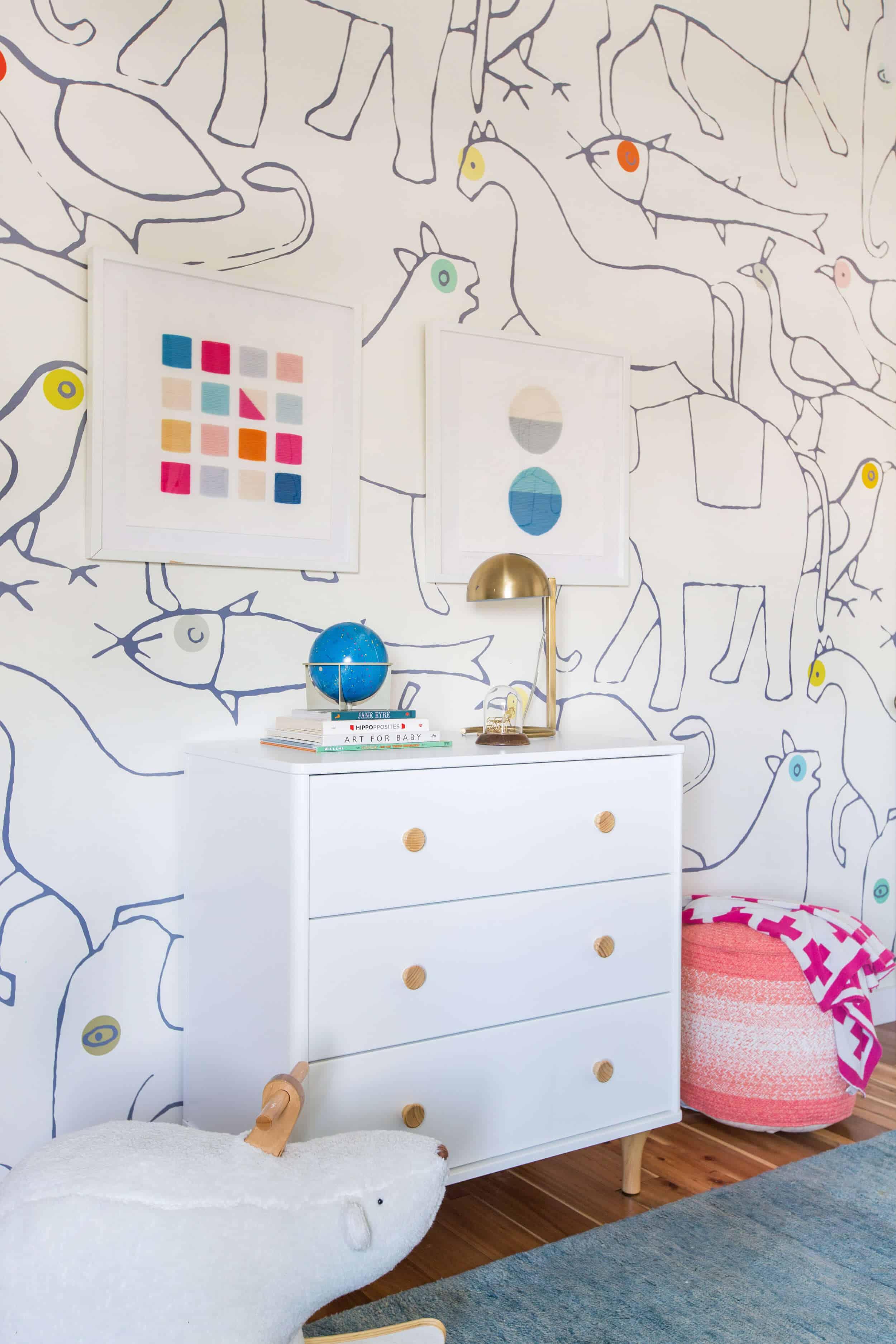 Emily Henderson_Kids Room_Budget Friendly_Target_Bright_Happy_Clean_Modern_Charlies Room_3