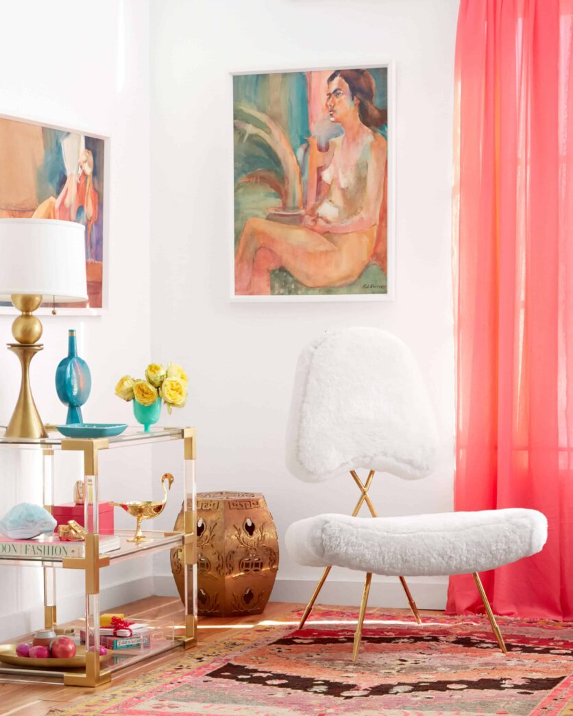 Modern Glam_Emily Henderson_Styled Book_Vingette