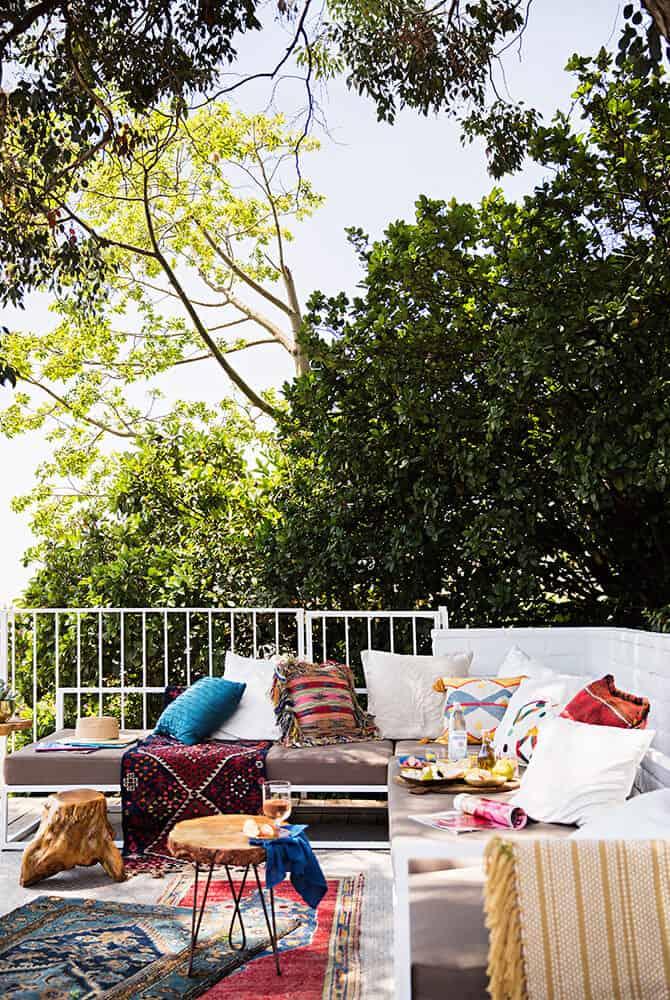 Emily Henderson Outdoor Deck Rugs
