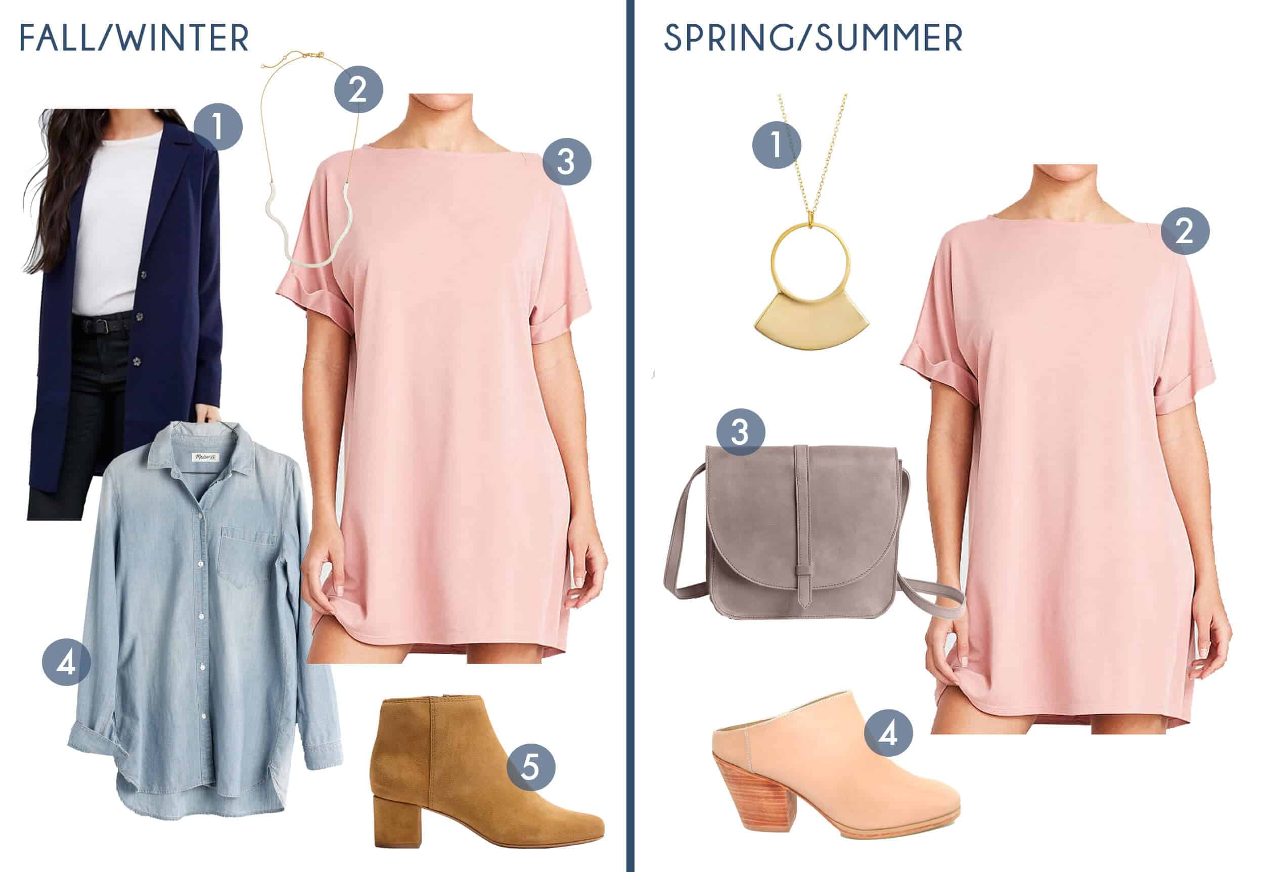 Emily Henderson Transitional Fashion Get The Look Pink Dress