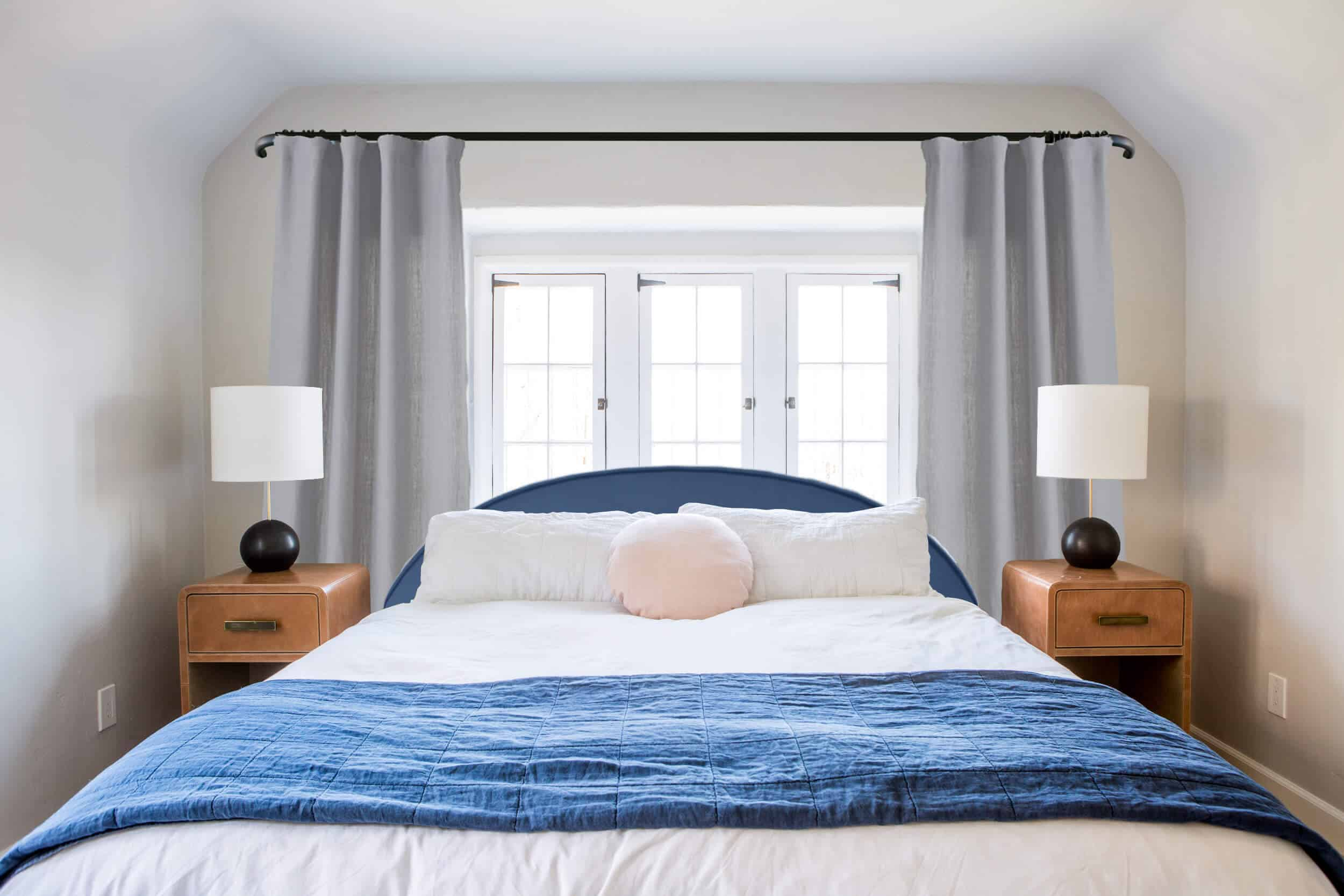 Emily Henderson_Ask the Audience_ Master Bedroom_Headboard_Low_Profile_Curved_Blue