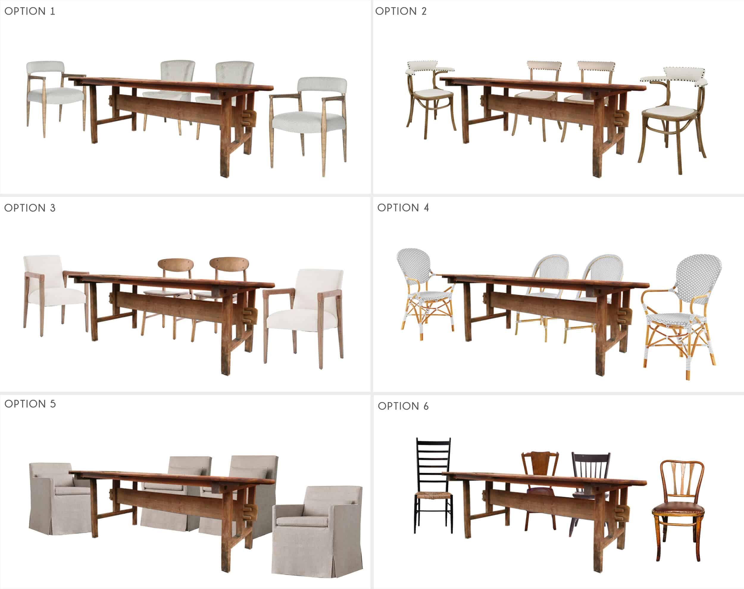 Emily Henderson_Ask the Audience_Dining Room_Chairs_Table_Option Roundup_FINAL