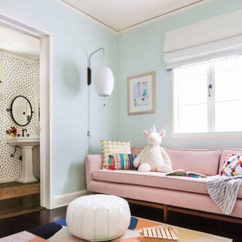 Emily Henderson_Full Design_Girls Playroom_Whimsical_Pink_Playful_1